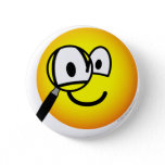 Magnifying glass emoticon Looking through  buttons