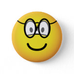 Emoticon with glasses   buttons