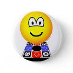 Dance dance revolution emoticon   buttons
