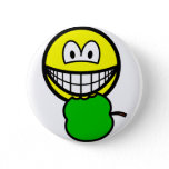Apple eating smile   buttons