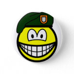 Green beret smile   buttons