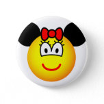 Minnie Mouse emoticon   buttons