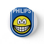 Philips smile Let's make things smile  buttons