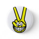 Peace sign smile   buttons