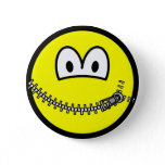 Zipped up smile   buttons