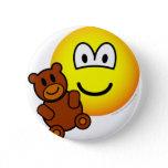 Teddy bear toy emoticon   buttons
