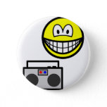 Boom box radio smile   buttons
