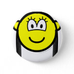 Black haired buddy icon   buttons