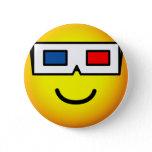 3D glasses emoticon   buttons
