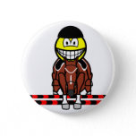 Horse show jumping smile Olympic sport Equestrian buttons