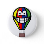Balloon smile Colorful  buttons
