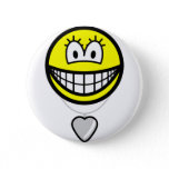 Heart shaped locket smile   buttons