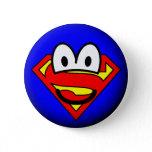 Superman emoticon Logo  buttons