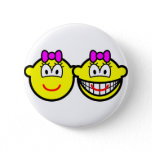 Identical twins buddy icon Girls  buttons