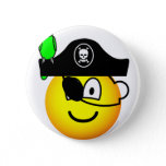 Pirate with parrot emoticon   buttons