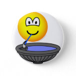 Water fountain emoticon drinking  buttons