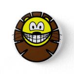 Leo smile Zodiac sign  buttons