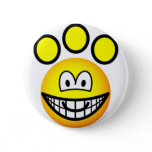 Paw print emoticon   buttons