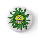 Medusa smile   buttons