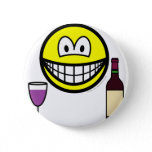 Wine drinking smile   buttons