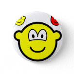 Angel and devil on shoulder buddy icon   buttons