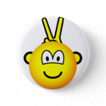 Bunny ears emoticon   buttons