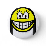 Black haired smile   buttons