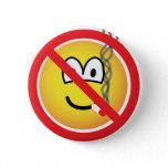 No smoking emoticon   buttons