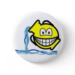 Aquarius smile Zodiac sign  buttons