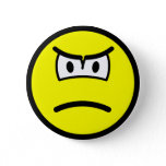 Scowling smile   buttons