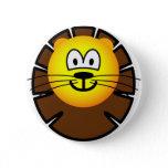 Leo emoticon Zodiac sign  buttons