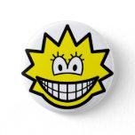 Simpson smile Lisa  buttons