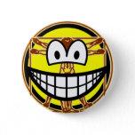Vitruvian Man smile Da vinci  buttons