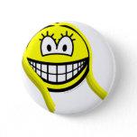 Virgo smile Zodiac sign  buttons