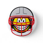 Football player smile   buttons