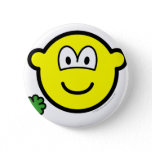 Good luck clover buddy icon Holding  buttons