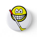Ice hockey smile   buttons