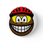 Biker smile muddy  buttons