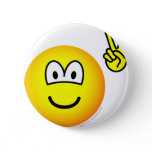Peace hand emoticon   buttons
