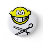 Cutting smile scissors  buttons