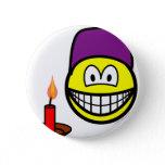 Dopey smile Seven Dwarves  buttons