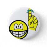 Reminder smile string around finger  buttons