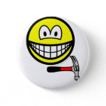 Hammer and nail smile   buttons