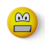 Duct taped mouth emoticon   buttons