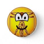 Vitruvian Man emoticon Da vinci  buttons