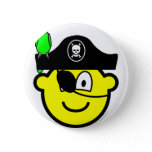 Pirate with parrot buddy icon   buttons