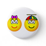 Brother and sister emoticon   buttons
