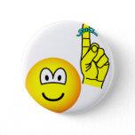 Reminder emoticon string around finger  buttons