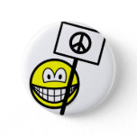 Ban the bomb smile   buttons