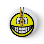 Pegged nose smile   buttons
